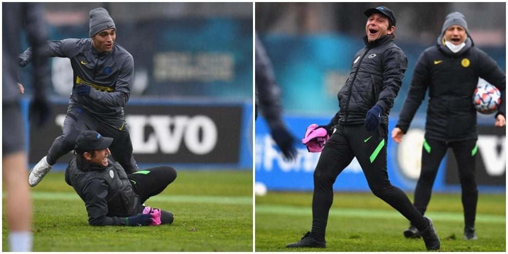 Inter. per la Champions in campo anche Conte!