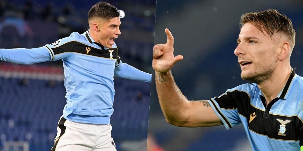 Lazio, ecco gli ottavi! Correa-Immobile, 2-2 con il Bruges