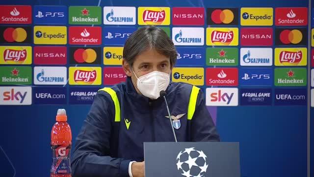 """Inzaghi: """"Lazio tra le migliori d'Europa con merito"""""""