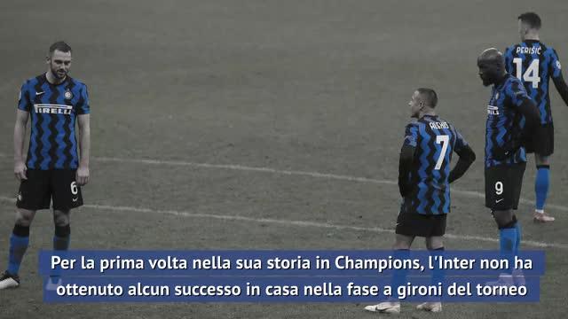 Inter, disastro Champions