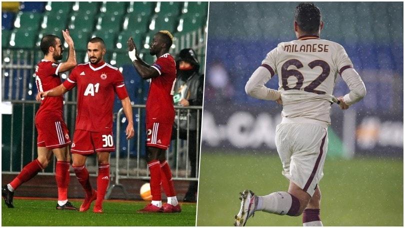 La Roma baby battuta dal Cska: Milanese gol e tanta felicità