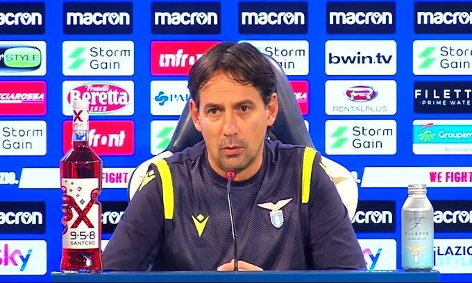 """Simone Inzaghi: """"La Lazio non è la Cenerentola della Champions"""""""