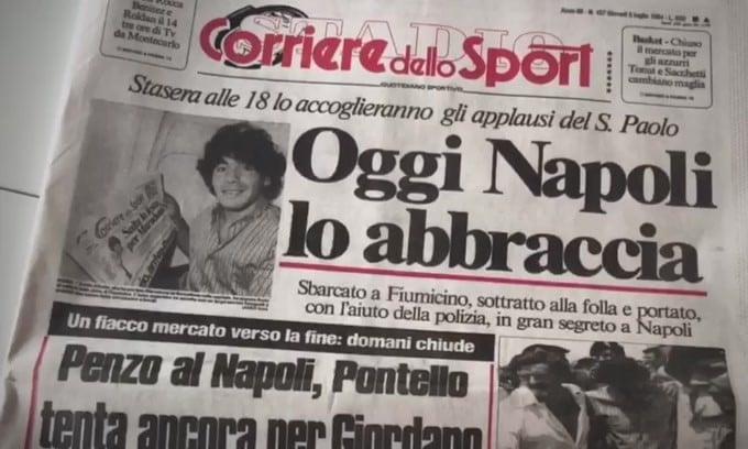 Speciale Maradona, numero da collezione in edicola il 12 dicembre