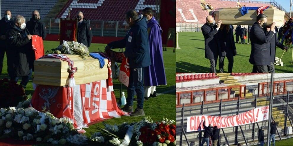 Paolo Rossi, l'ultimo saluto al Curi di Perugia