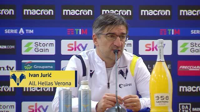 """Juric: """"Lazio affaticata dalla Champions"""""""