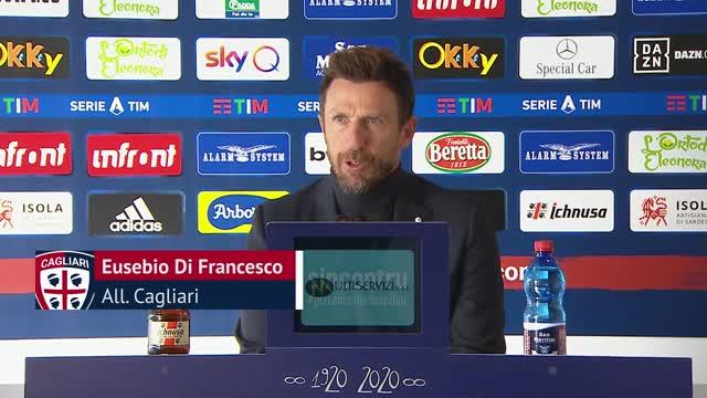 """Di Francesco: """"Eurogol di Barella ma il secondo..."""""""