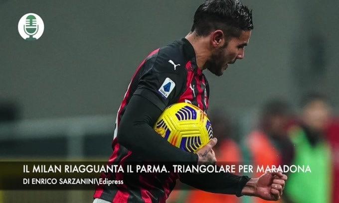 """Il Milan riagguanta il Parma. """"Triangolare per Maradona"""""""
