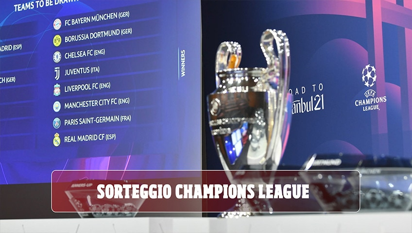 Sorteggi Champions: Lazio-Bayern Monaco, Porto-Juve e Atalanta-Real Madrid