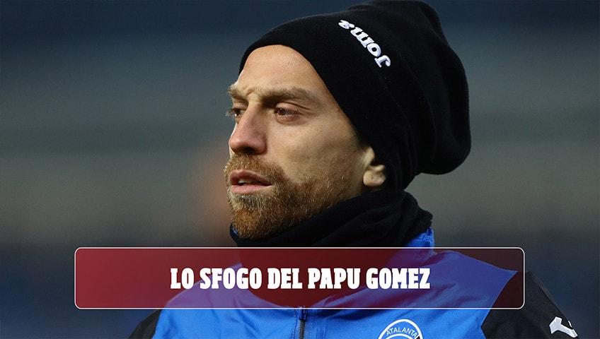 """Atalanta, Gomez si sfoga: """"Quando andrò via saprete tutta la verità"""""""