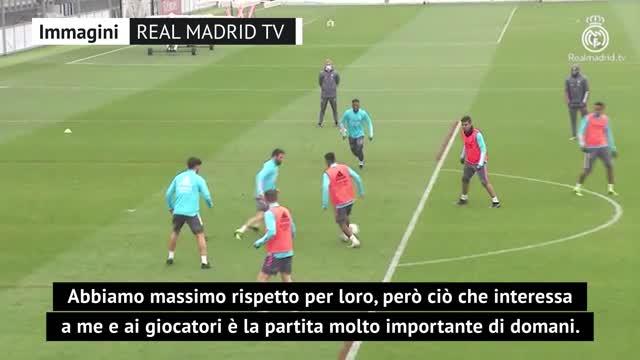 """Zidane: """"L'Atalanta? Ci penseremo a febbraio"""""""