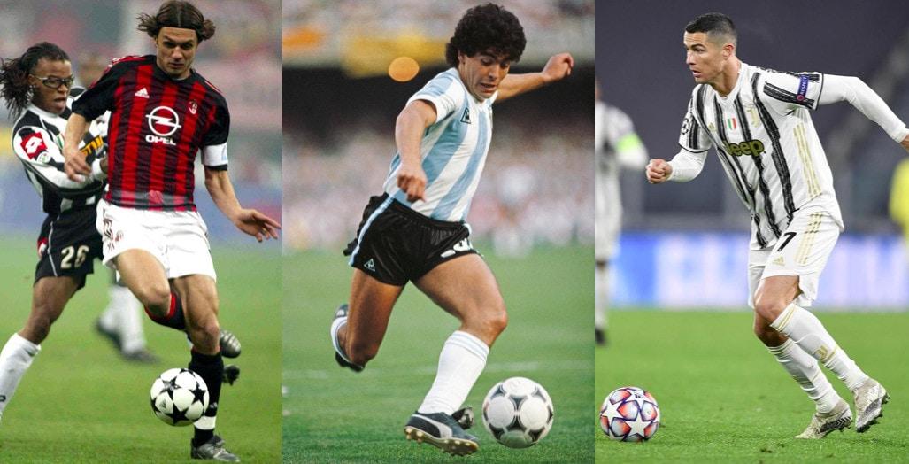 Il Dream team di sempre: ci sono Maldini, Maradona e Cristiano Ronaldo