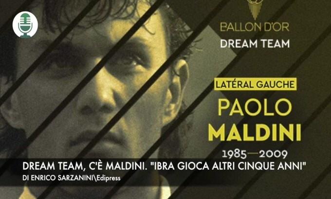 """Dream team, c'è Maldini. """"Ibra gioca altri 5 anni"""""""