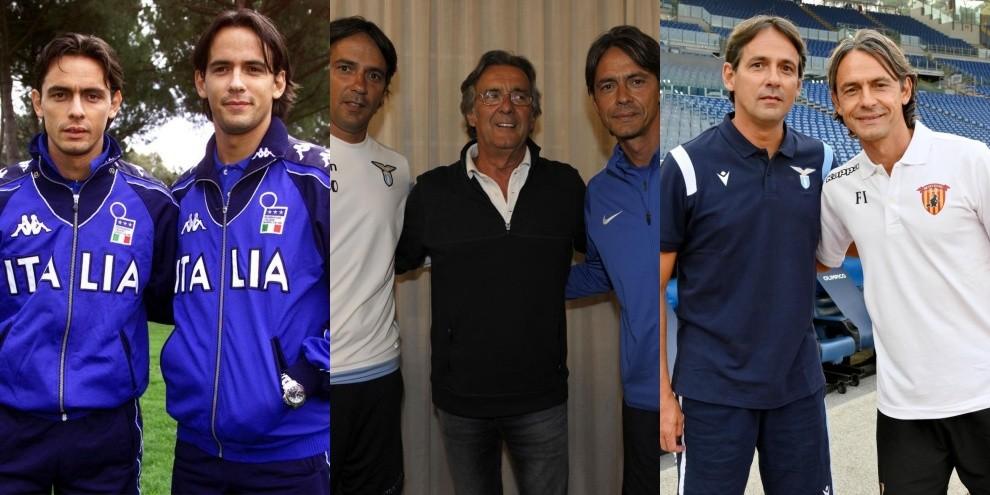 Inzaghi, la storia: dalle foto in Nazionale ai sorrisi di papà Giancarlo