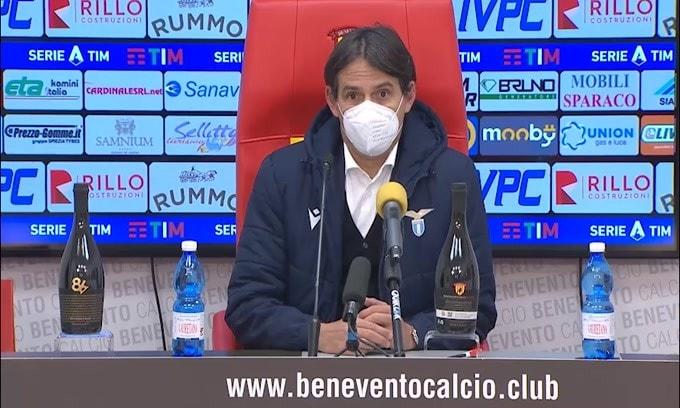 "Simone Inzaghi sui cambi: ""Forse fatti tardi"""