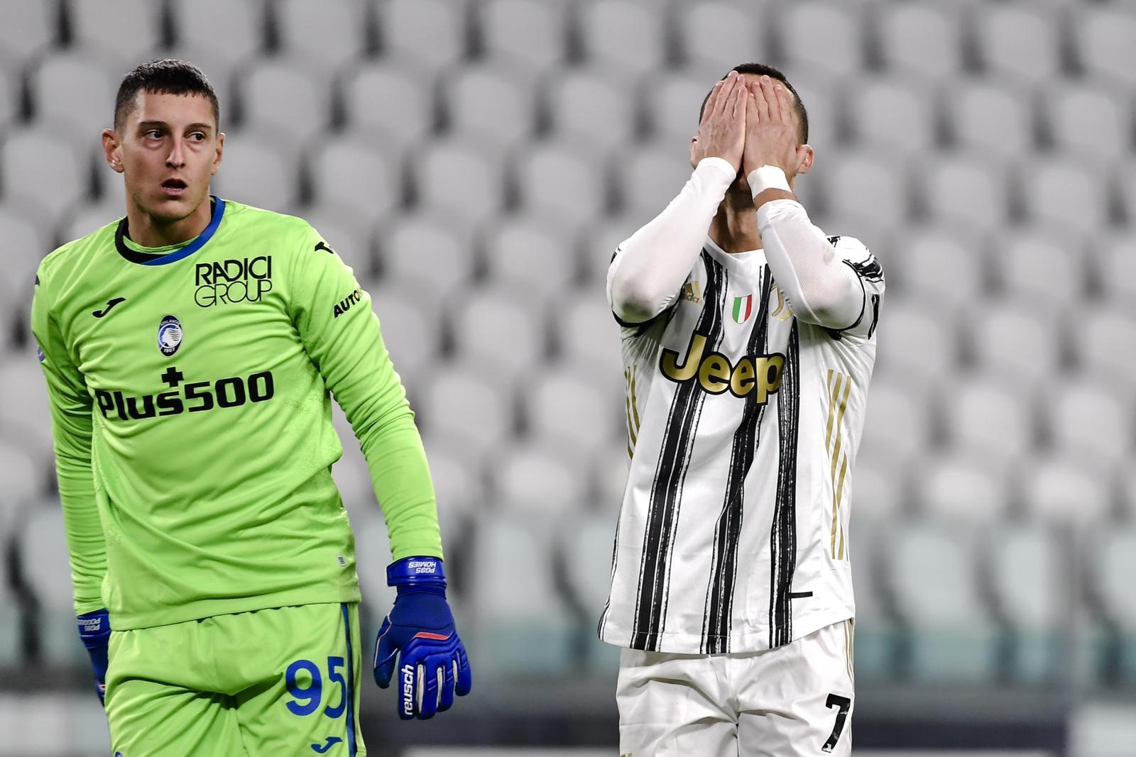 Juve-Atalanta 1-1, che spettacolo: Gollini super su Ronaldo, gol di Chiesa e Freuler