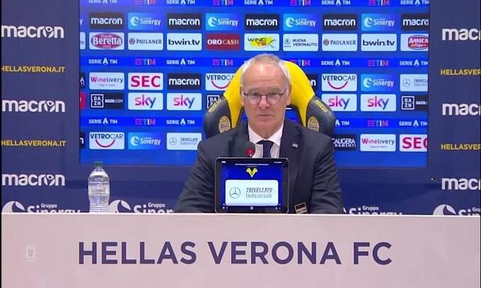 """Ranieri: """"Candreva? Si può risolvere tutto. Il calcio è come..la politica"""""""