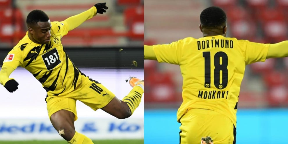 YoussoufaMoukoko nella storia della Bundesliga