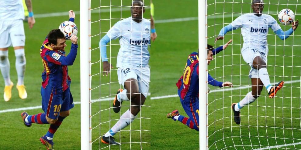 Messi segna e raggiunge Pelé: il Barça lo omaggia così
