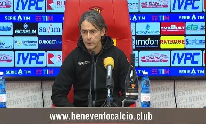 """Inzaghi: """"Non dobbiamo montarci la testa"""""""