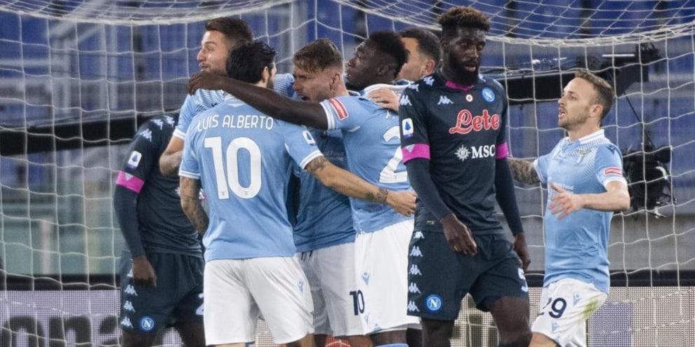 Lazio-Napoli 2-0: Inzaghi affonda Gattuso, è a -3 dalla Roma