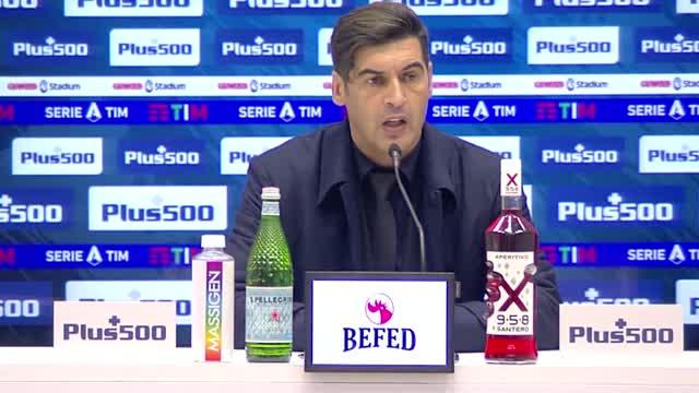"Fonseca arrabbiato: ""Secondo tempo da bambini"""