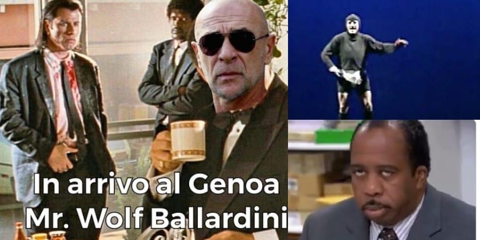 Ballardini al Genoa, eterno ritorno: i social ci ridono su