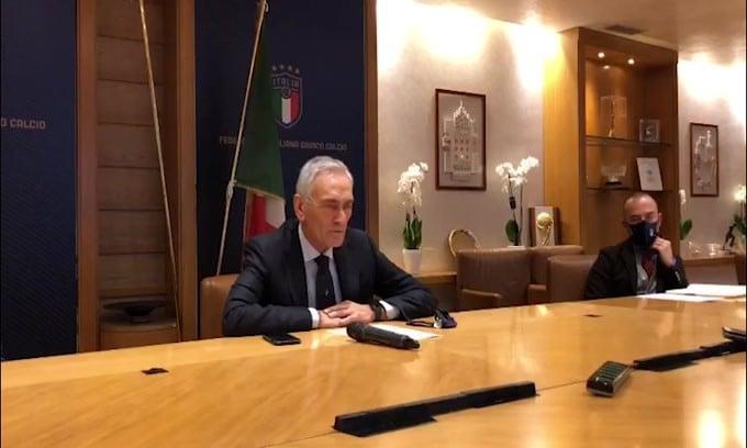 """Gravina: """"Il contratto di Mancini? Nessun problema per noi"""""""