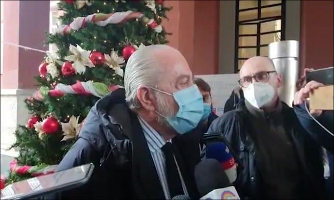 """De Laurentiis: """"Cosa avrei dovuto fare? Contaminare la Juve"""""""