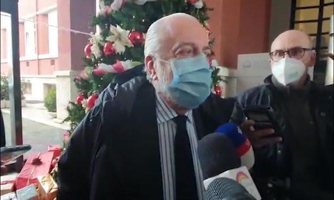"""De Laurentiis: """"Mi aspetto che venga cancellato un giudizio iniquo"""""""