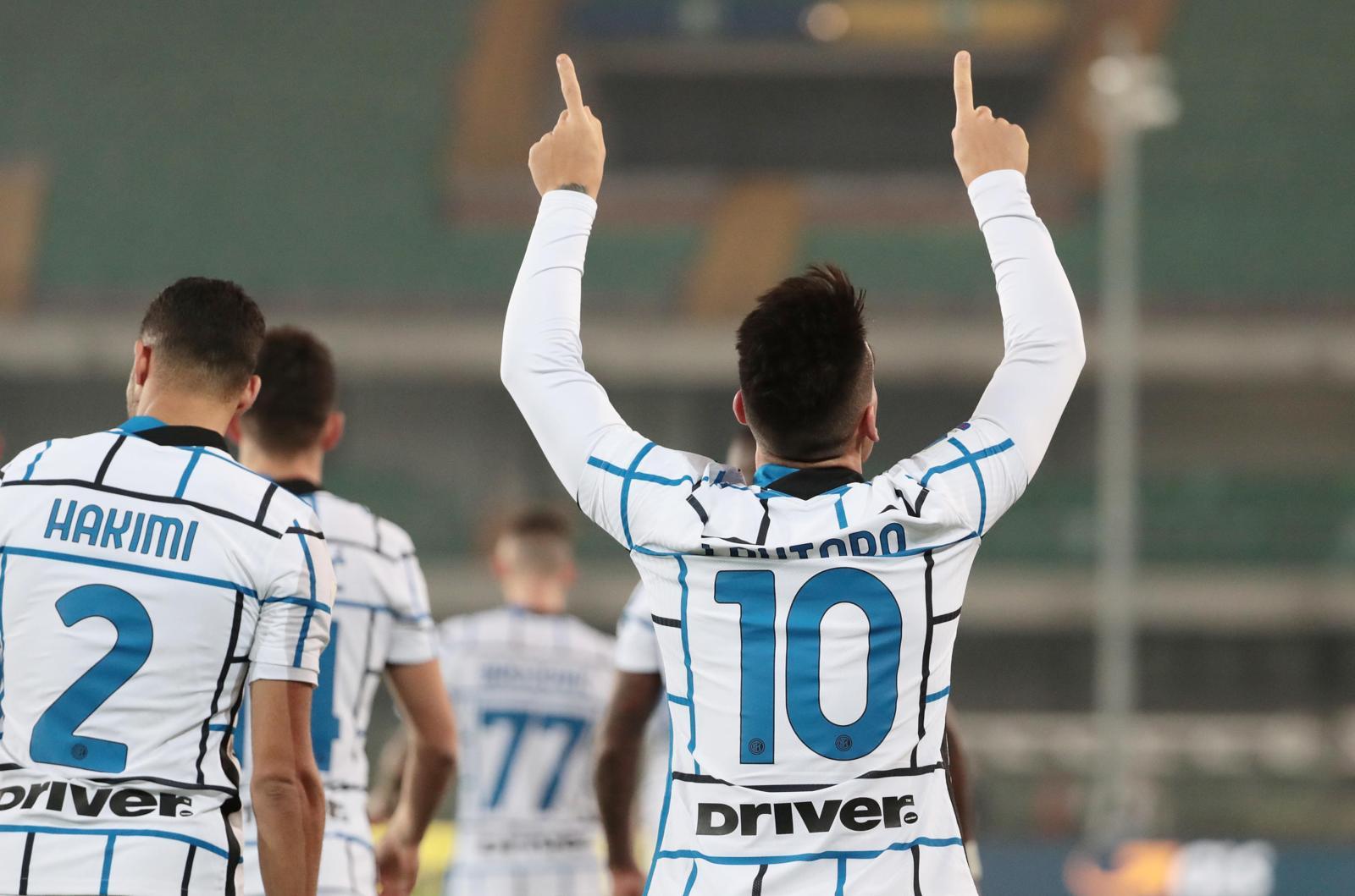 Festa Conte! Inter alla settima vittoria di fila: Verona ko 2-1