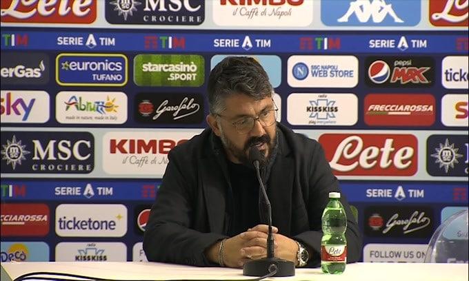 """Gattuso: """"Mercato? Se rimaniamo questi va bene"""""""