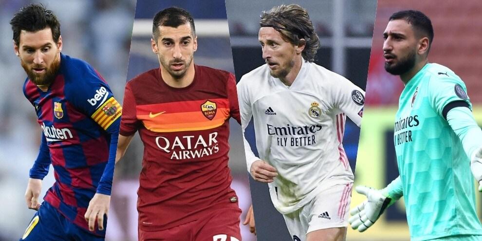 I giocatori in scadenza nel 2021: quante occasioni!