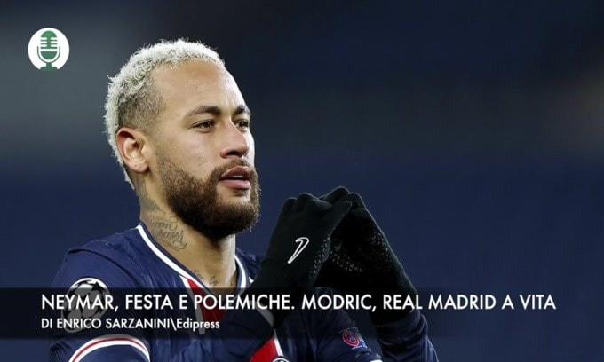 Neymar, festa e polemiche. Modric, Real Madrid a vita