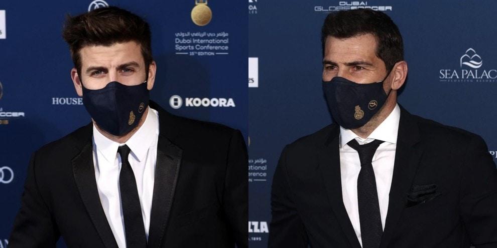 Da Lewandowski a Piqué e Casillas: parata di stelle a Dubai