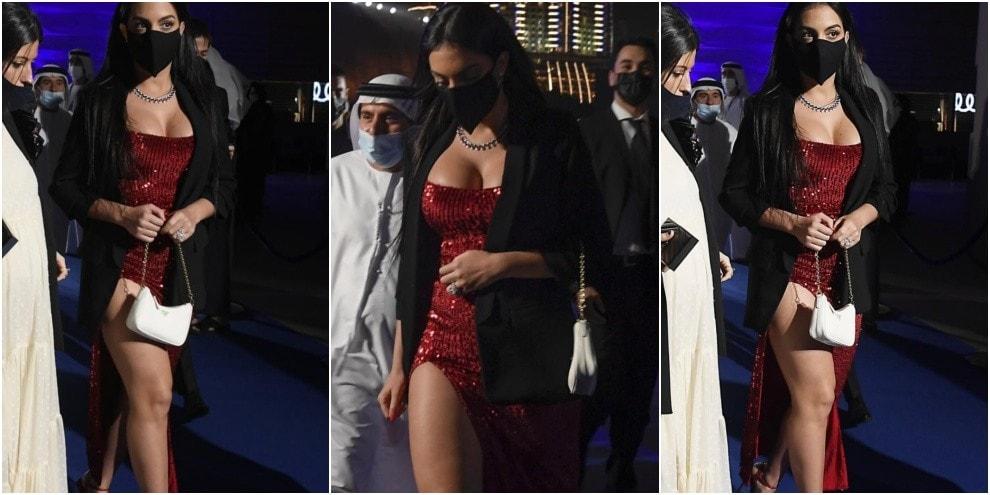 Ronaldo non è solo: anche Georgina a Dubai