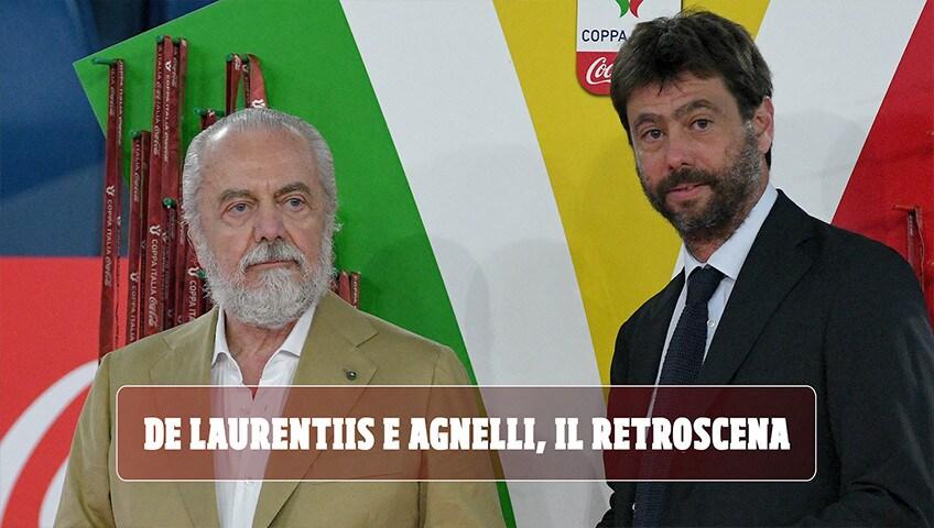 De Laurentiis e Agnelli, il retroscena: di cosa hanno parlato Napoli e Juve