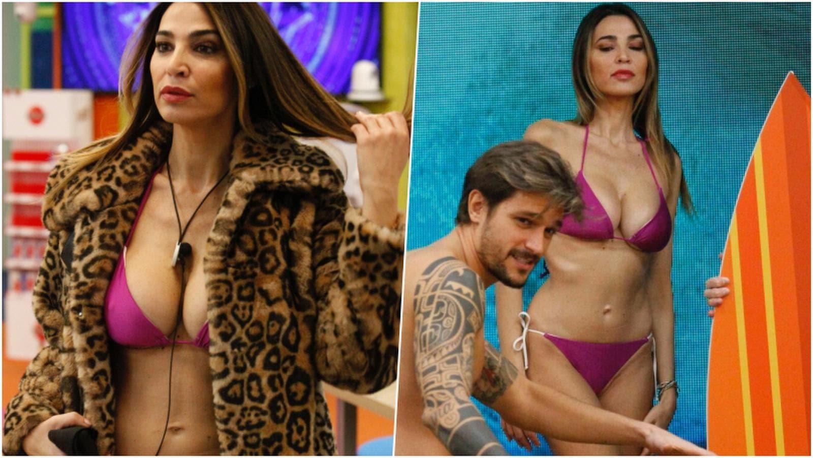 Cecilia Capriotti infiamma il Grande Fratello Vip con un super bikini