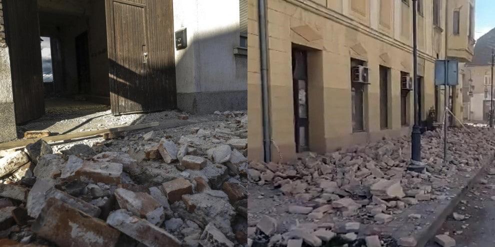 Terremoto Croazia, le foto sono devastanti