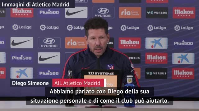 "Simeone saluta Diego Costa: ""Ci rivedremo..."""