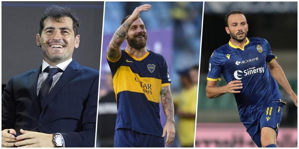 Da Casillas a De Rossi e Pazzini: i big che hanno lasciato il calcio nel 2020
