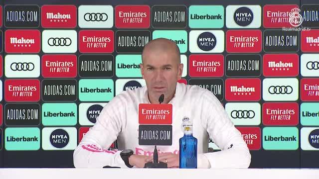 """Zidane: """"Campionato molto aperto. Su Jovic..."""""""