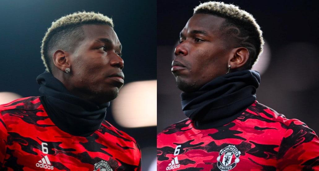 Manchester United, Pogba sfoggia un nuovo look per il 2021