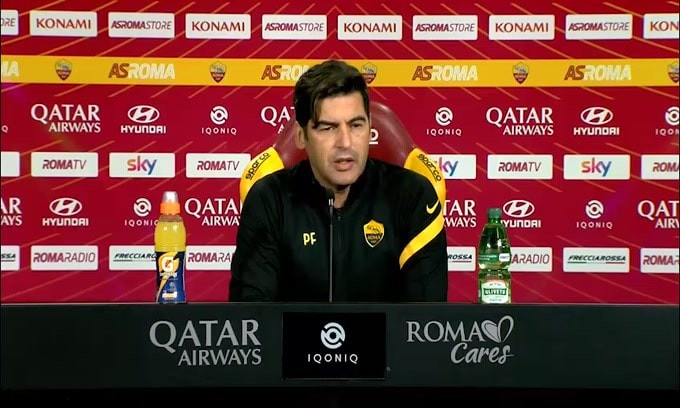 "Fonseca: ""Guida arbitro? Ho fiducia in lui"""