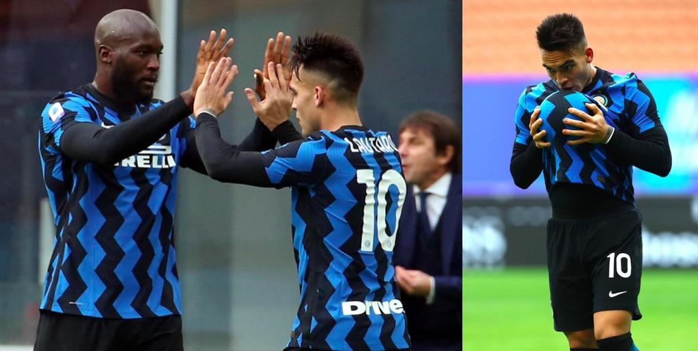 Lautaro Martinez, super tripletta: l'Inter stende il Crotone 6-2
