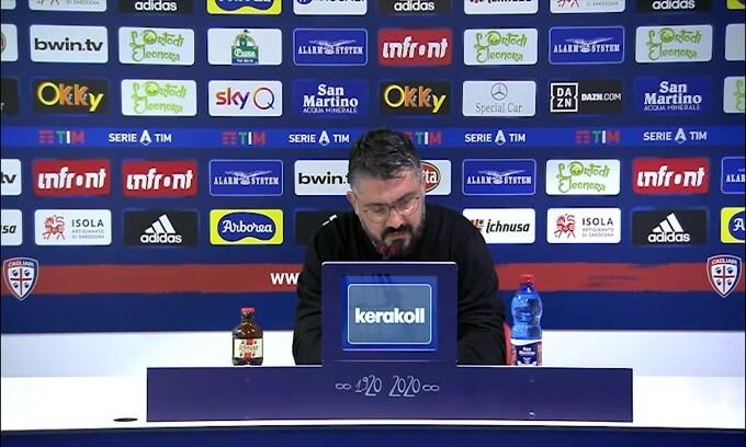 """Gattuso: """"Questo Napoli gioca un calcio europeo"""""""
