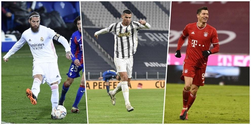 La Top 11 del 2020 per L'Equipe: Ronaldo è l'unico della Serie A