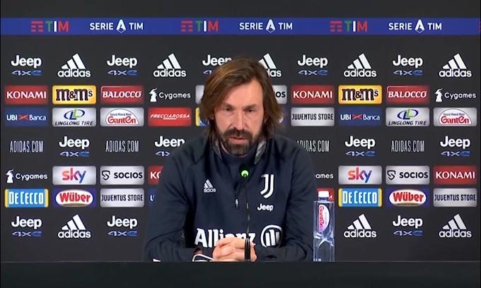 """Pirlo: """"Il Milan è in testa meritatamente. Hanno un grande spirito"""""""