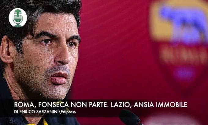 Roma, Fonseca non parte. Lazio, ansia Immobile