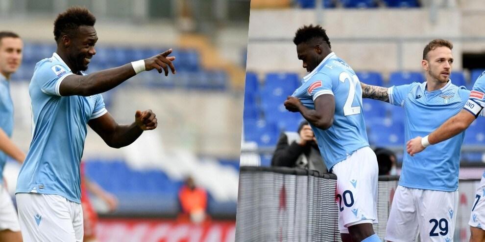Caicedo, cuore Lazio: segna e bacia la maglia