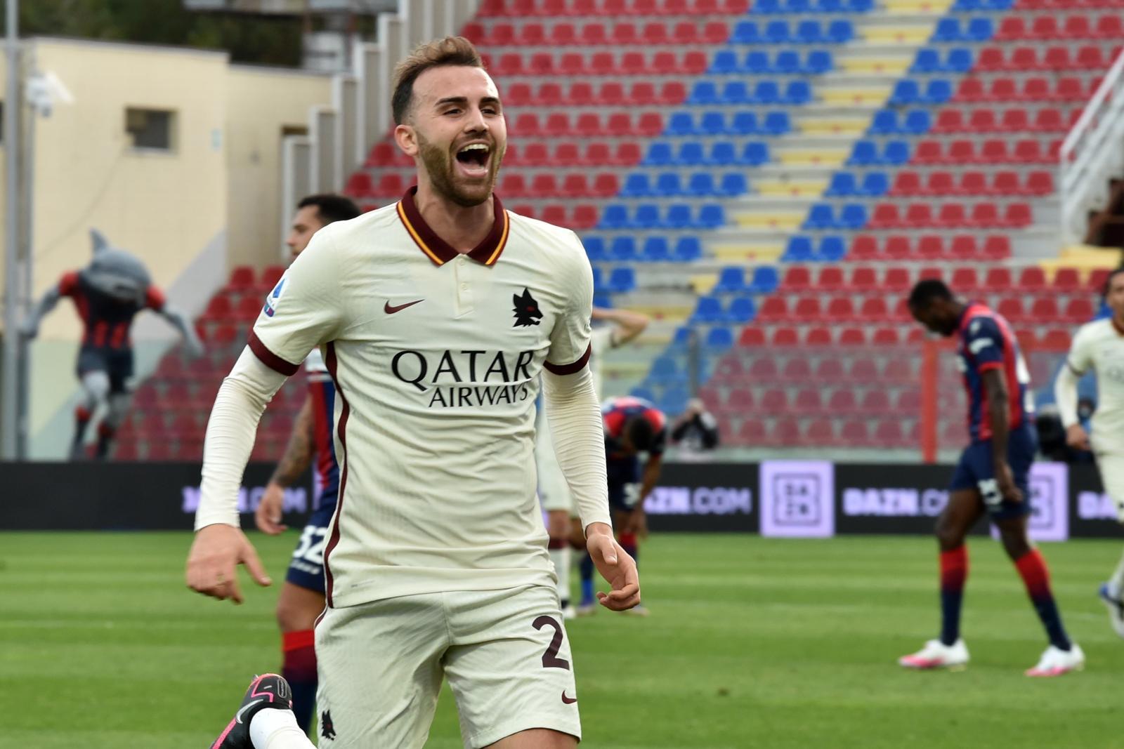 Crotone-Roma 1-3: Borja Mayoral show, che doppietta!